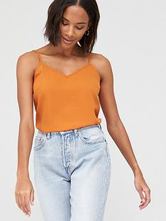 v-by-very-essential-woven-cami-orange