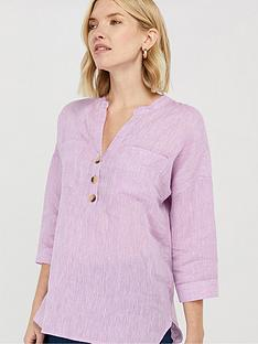 monsoon-biana-linen-blouse-lilac