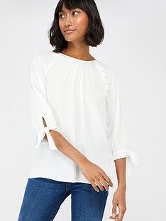 monsoon-josiah-tie-sleeve-blouse