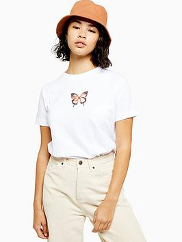 topshop-petite-butterfly-t--shirt-white