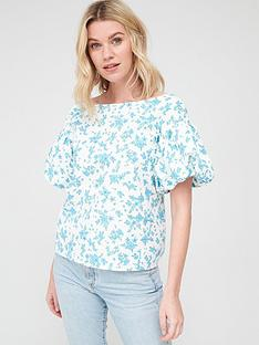 v-by-very-printed-bardot-cotton-blouse-white-floralnbsp