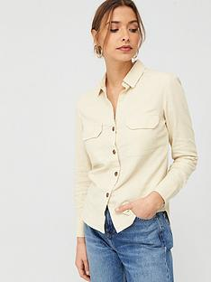 v-by-very-linen-button-through-shirt-ivory