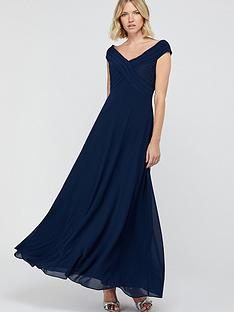 monsoon-bethany-bardot-pleat-lace-maxi-dressnbsp-navy