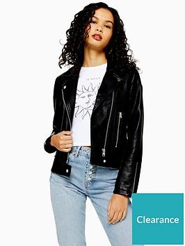 topshop-tall-pu-biker-jacket-black