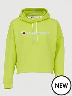 tommy-hilfiger-cropped-logo-hoodienbsp--yellownbsp