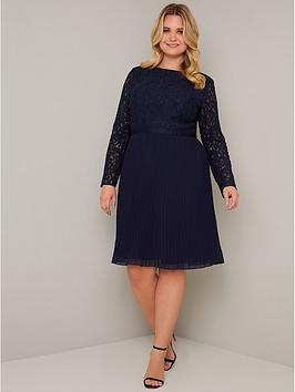 chi-chi-london-curve-rene-dress-navy