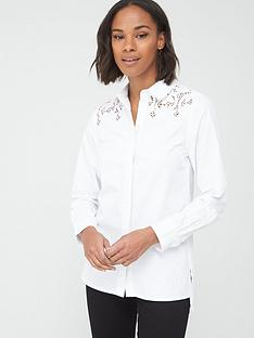 v-by-very-lacenbspyoke-cotton-shirt-white