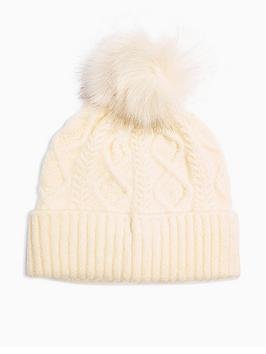 topshop-cable-knit-faux-fur-pom-pom-beanie-cream