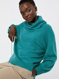 monsoon-mika-cowl-jumper