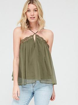v-by-very-embroidered-cross-back-cami-khakinbsp