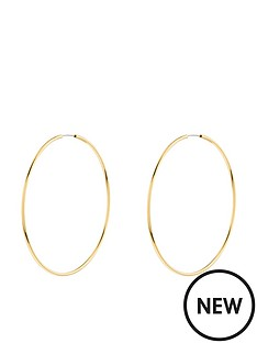 accessorize-z-medium-simple-hoop-earrings-gold