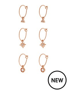 accessorize-z-3x-charmy-hoop-rose-gold