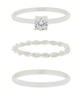 accessorize-st-sparkle-ring-set