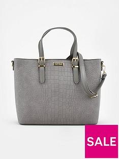 carvela-hex-tote-bag-grey