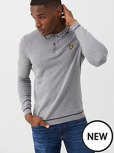lyle-scott-knitted-ls-polo