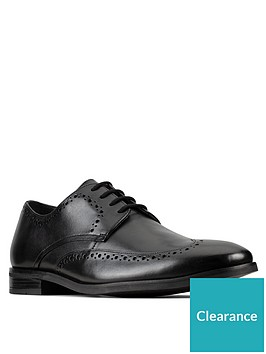 clarks-stanford-limit-lace-up-shoe-black