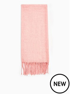 topshop-topshop-supersoft-recycled-scarf-pink