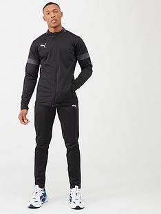 puma-football-tracksuit-black