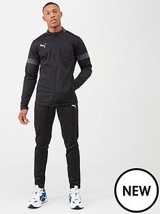 puma-football-tracksuit-black