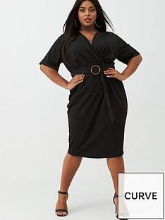 v-by-very-curve-jersey-wrap-pencil-dress-black