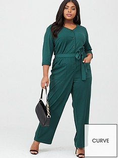 junarose-teva-three-quarter-sleeve-jumpsuit