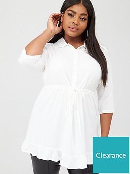junarose-sang-three-quarter-sleeve-tunic-white