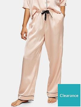 topshop-topshop-satin-pyjama-trousers-pink