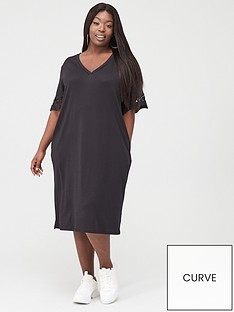 junarose-fara-t-shirt-midi-dress-black