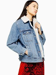 topshop-borg-denim-jacket-blue