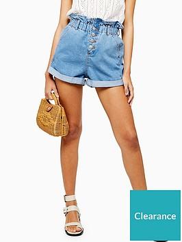 topshop-paperbag-denim-shorts-mid-denim
