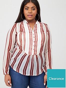 junarose-ebba-stripe-blouse-multi