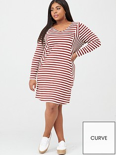 junarose-rise-long-sleeve-striped-dress-stripe
