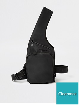 river-island-black-mcmlx-harness-chest-bag
