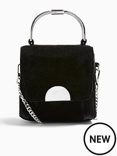 topshop-topshop-olivia-velvet-grab-bag-black