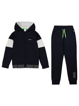 boss-boys-zip-through-hoodie-tracksuit-blue