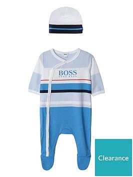boss-baby-boys-stripe-all-in-one-amp-hat-gift-set-blue