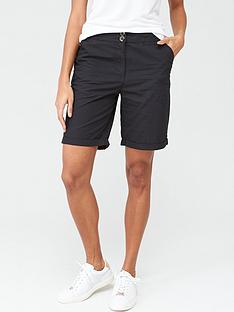 v-by-very-longer-length-poplin-short-black