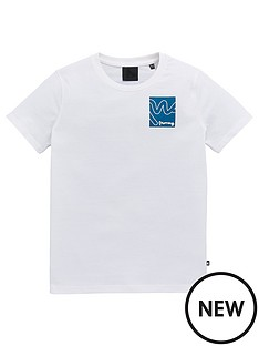 money-boys-short-sleeve-box-signature-t-shirt-white