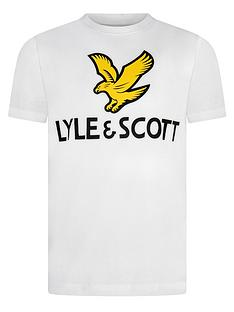 lyle-scott-boys-short-sleeve-eagle-logo-t-shirt-white