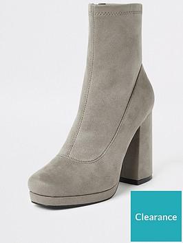 river-island-river-island-platform-block-heel-boots-grey