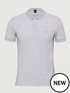 boss-golf-piro-short-sleeve-polo-shirt-grey