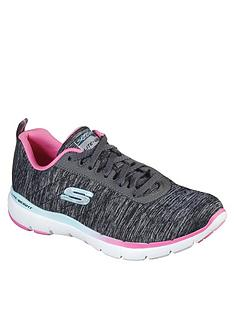skechers-flex-appeal-30-trainer-blackpink