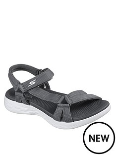 skechers-on-the-go-600-brilliancy-sandal-charcoal
