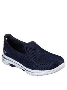 skechers-go-walk-5-slip-on-pump-navy
