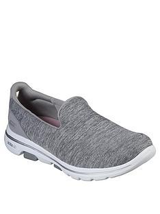 skechers-go-walk-5-honour-slip-on-pump-grey