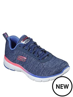 skechers-flex-appeal-30-trainer-blue
