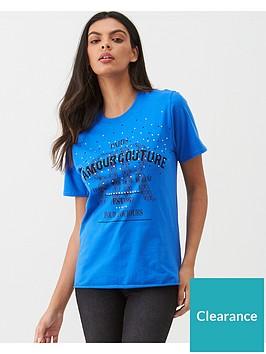 river-island-river-island-diamante-slogan-t-shirt-blue