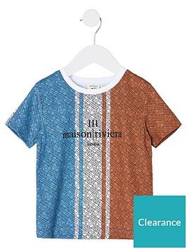 river-island-boys-maison-riviera-t-shirtnbsp--bluered