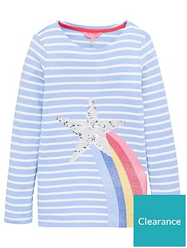 joules-girls-harbour-luxe-star-long-sleeve-t-shirt-blue