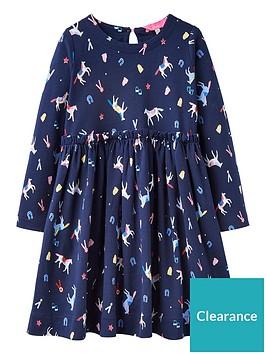 joules-girls-hampton-horse-dress-navy